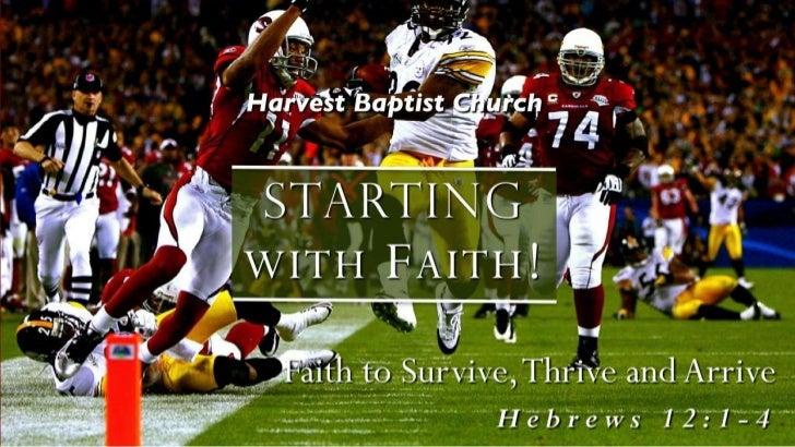 Faith 8 heb 12 1 4 slides 090912