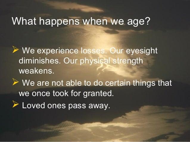 Faith as We Age Slide 3