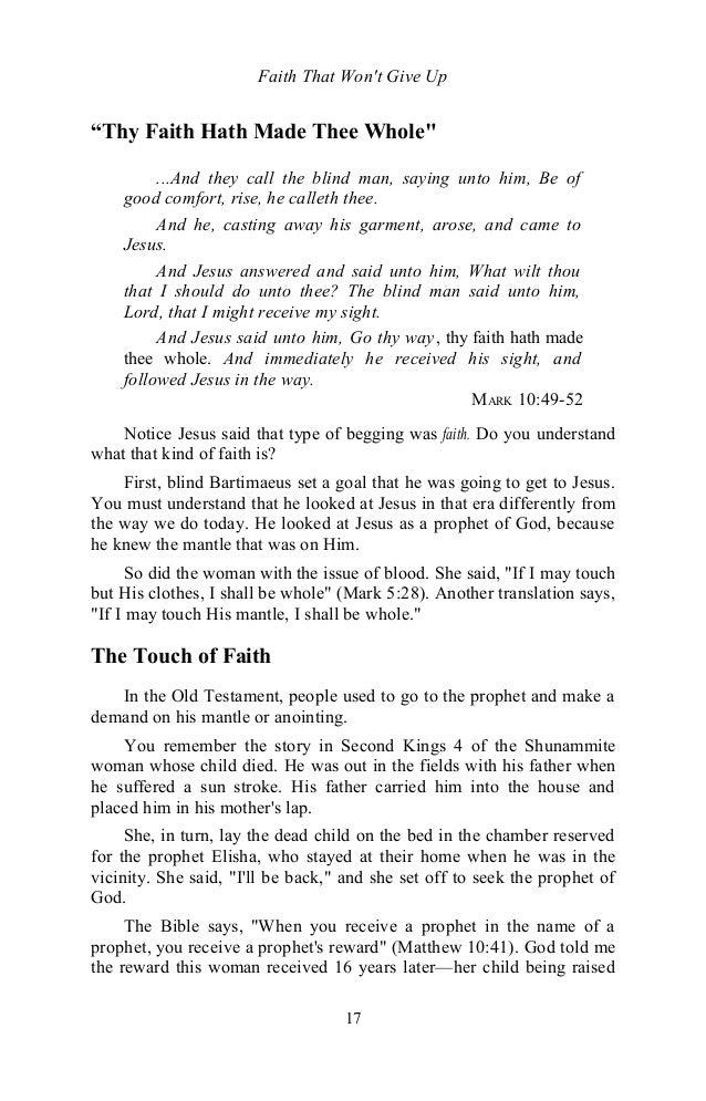 Faithmakesademandontheanointingbyeddufresne 131127153835 phpapp01 17 faith that fandeluxe Choice Image