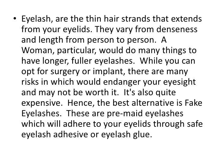 Fake Eyelashes Fake Eyelashes Tips