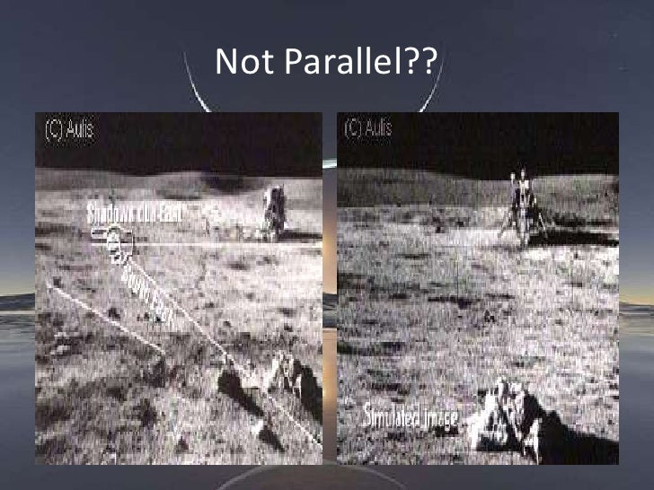 moon landing conspiracy shadows - photo #22