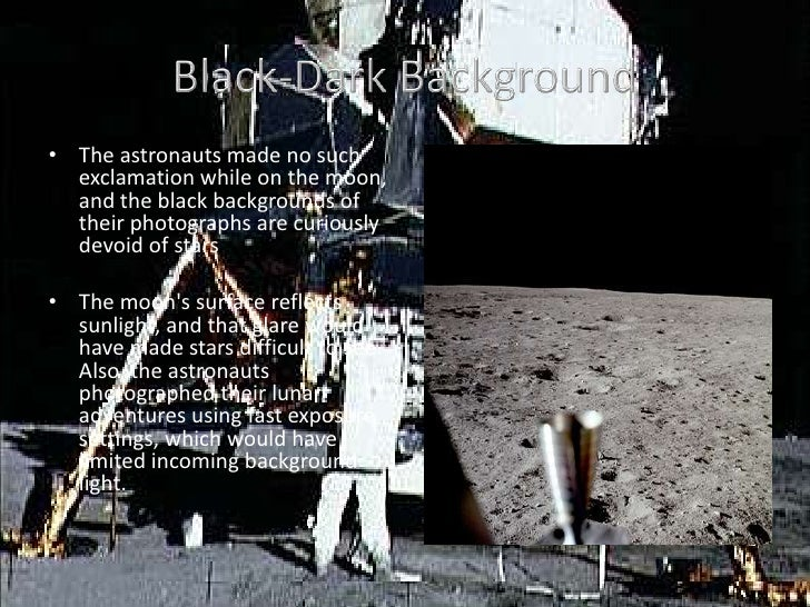 first moon landing conspiracy theory