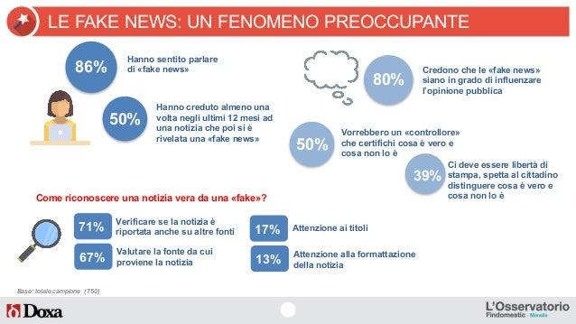 """Fake News, un italiano su 2 """"ci casca"""" Slide 3"""