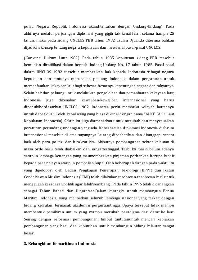 Fakta Dan Sejarah Kemaritiman Indonesia