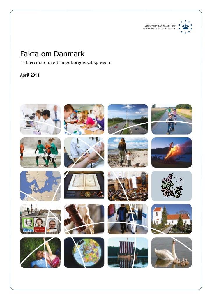 Fakta om Danmark – Læremateriale til medborgerskabsprøvenApril 2011                                            Kommuner   ...