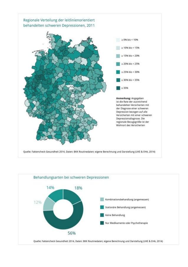 Faktencheck Depression - Grafiken im Überblick