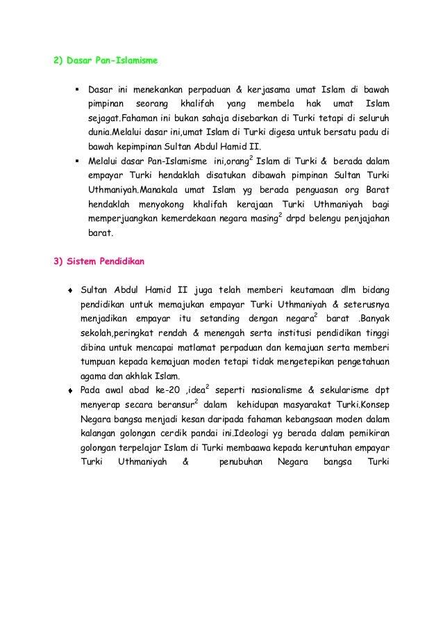 Faktor Faktor Pembentukan Negara Bangsa Di Turki Pada Abad Ke 20 Sej