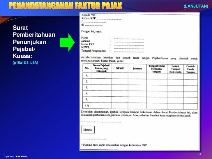 Contoh Pengisian Faktur Pajak Valas 2013 Info Masaran