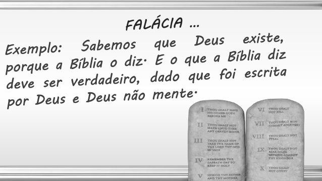 Esta falácia ocorre quando se argumenta que uma proposição é verdadeira porque não foi provado que é falsa ou falsa porque...