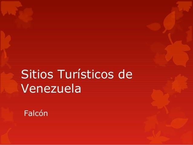 Sitios Turísticos deVenezuelaFalcón