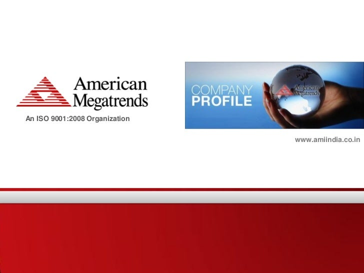An ISO 9001:2008 Organization                                www.amiindia.co.in