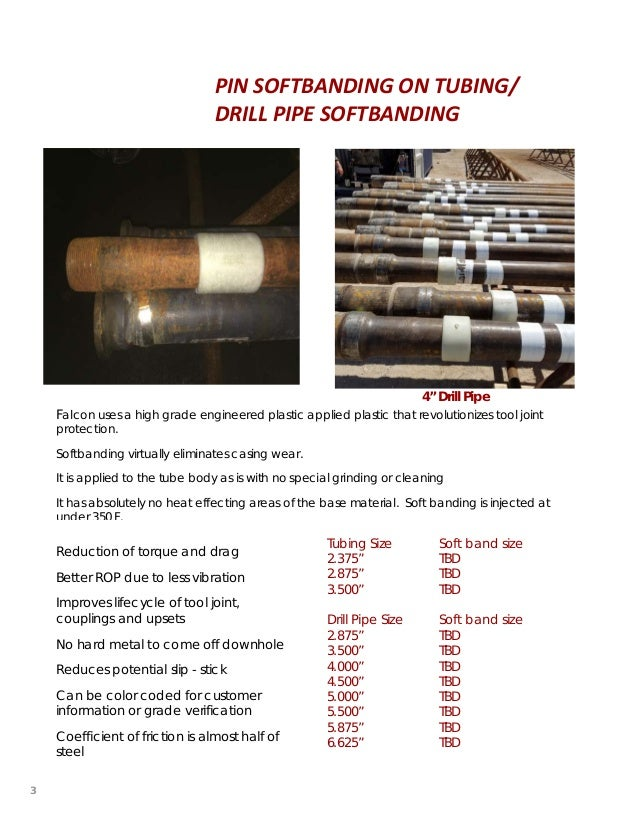 Mold Injected Wear Pad & Soft Banding For Tubing