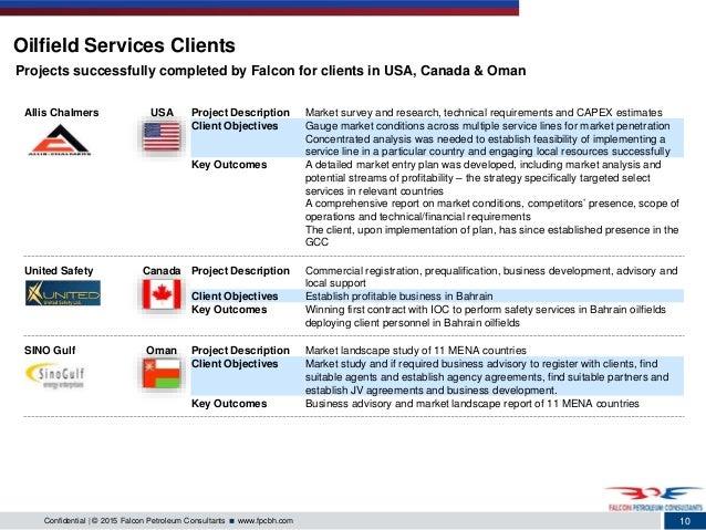 Falcon petroleum consultants detailed profile