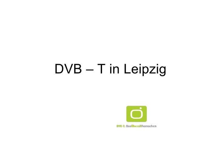 DVB – T in Leipzig