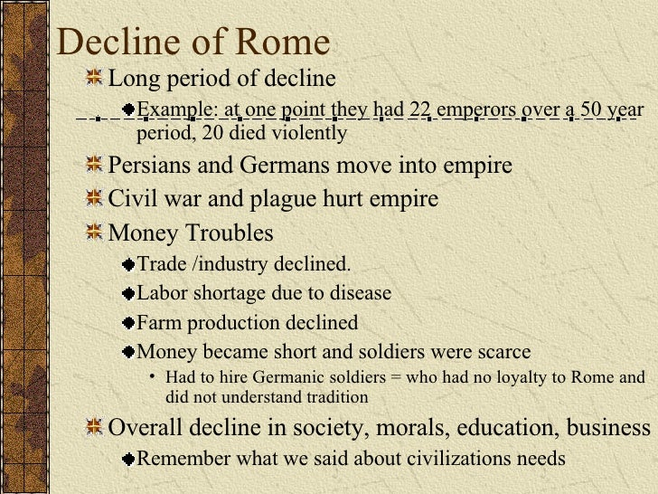 an overview of the western roman empire 476 - german goth odoacer becomes king of italy signaling an end to the western roman empire 509 - the king of the franks,  brief overview of the history of germany.