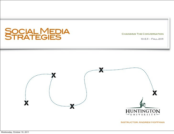 Social Media   Strategies                                          Changing The Conversation                              ...