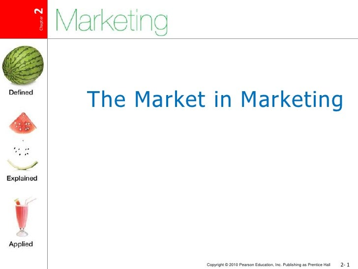 The Market in Marketing<br />
