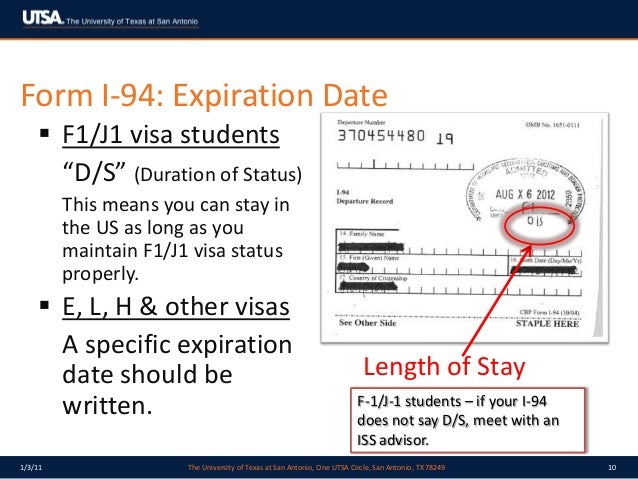 Passport expiration date