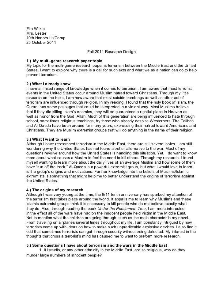 Research proposal essay topics