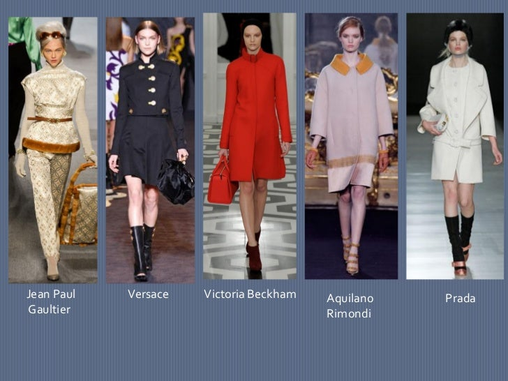 Fall 2012 Fashion Week Trends
