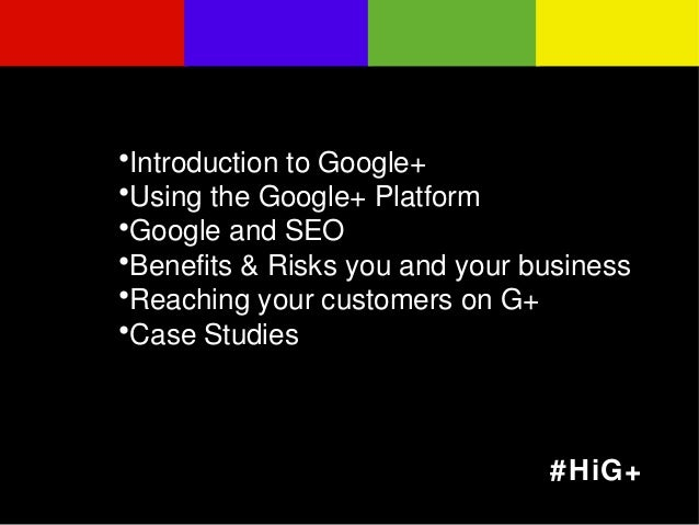 Welcome to Google+ Slide 2