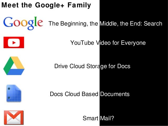 Welcome to Google+ Slide 3