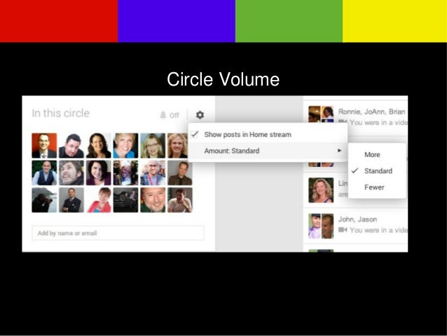 Circle Volume