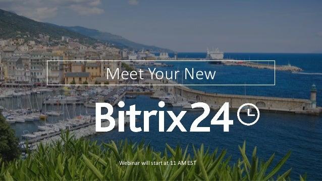 Meet Your New Webinar will start at 11 AM EST