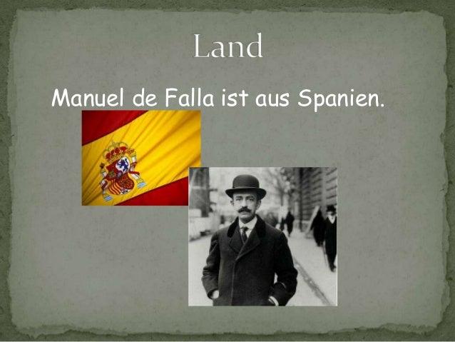 Manuel de Falla Slide 2