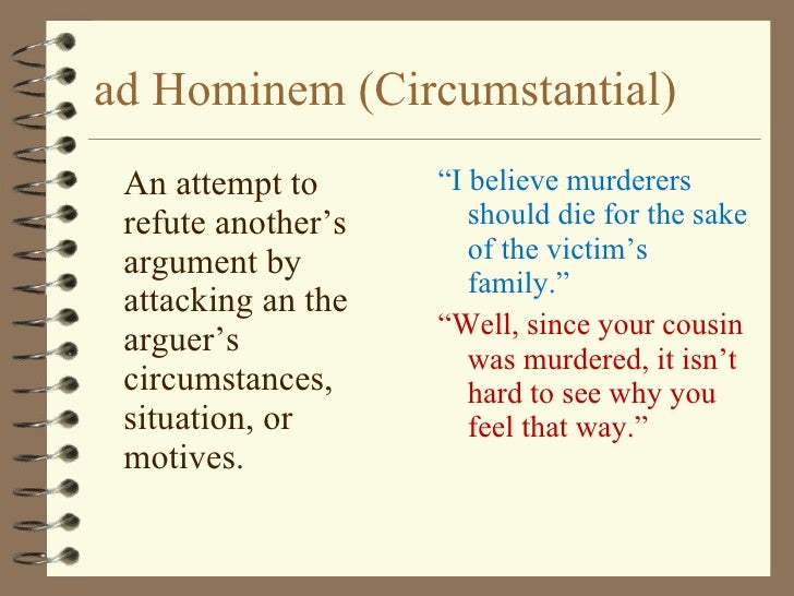 Ad Hominem Fallacy Exle 28 Images Anti Sharia Marches Kick Off