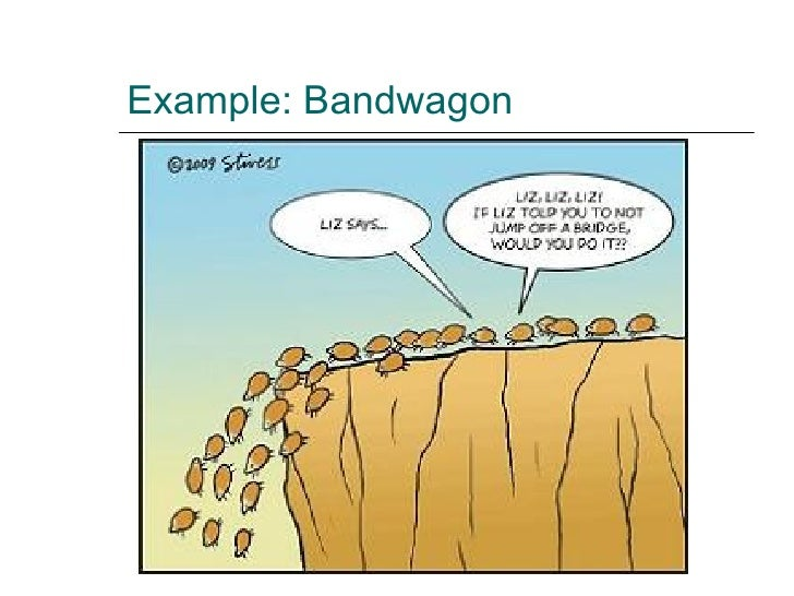 Bandwagon Fallacy Advertisement Examples | www.pixshark ...