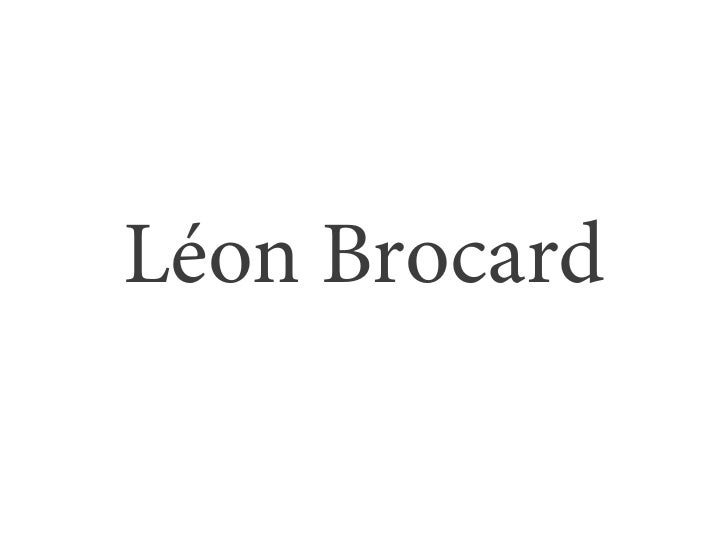 Léon Brocard