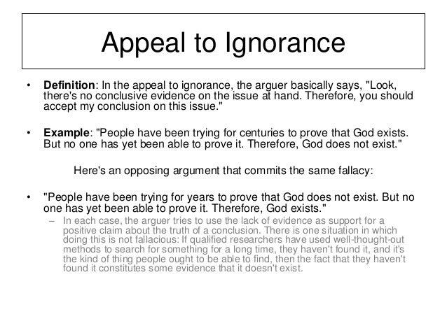 Fallacies Week7