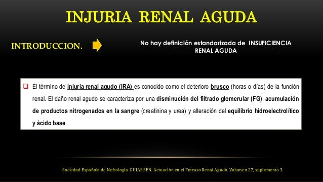 NEFROLOGIA CLINICA: Falla renal aguda Slide 2