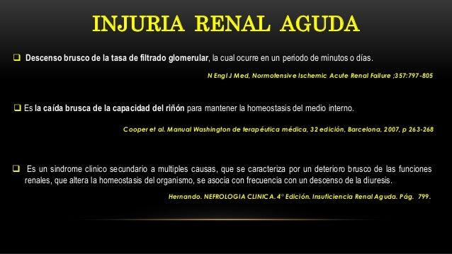 NEFROLOGIA CLINICA: Falla renal aguda Slide 3