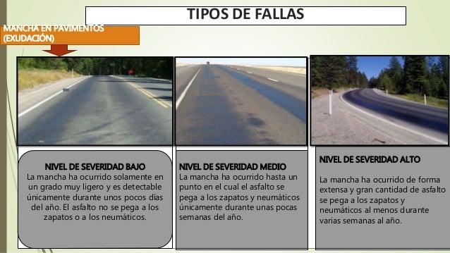 Fallas - Clases de pavimentos ...