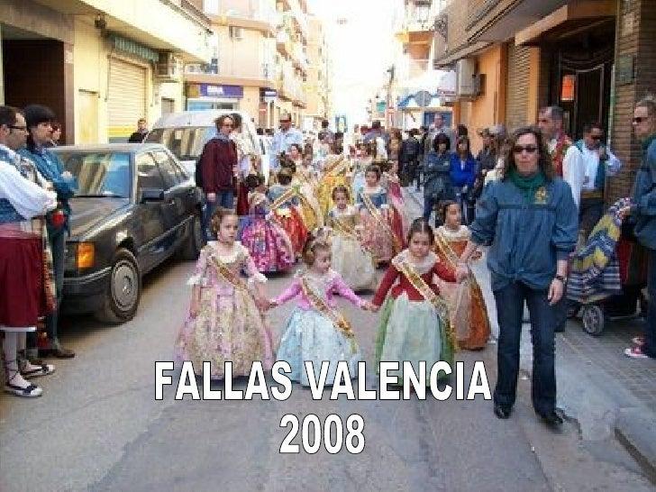 FALLAS VALENCIA 2008