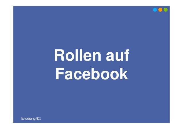 Rollen aufFacebook