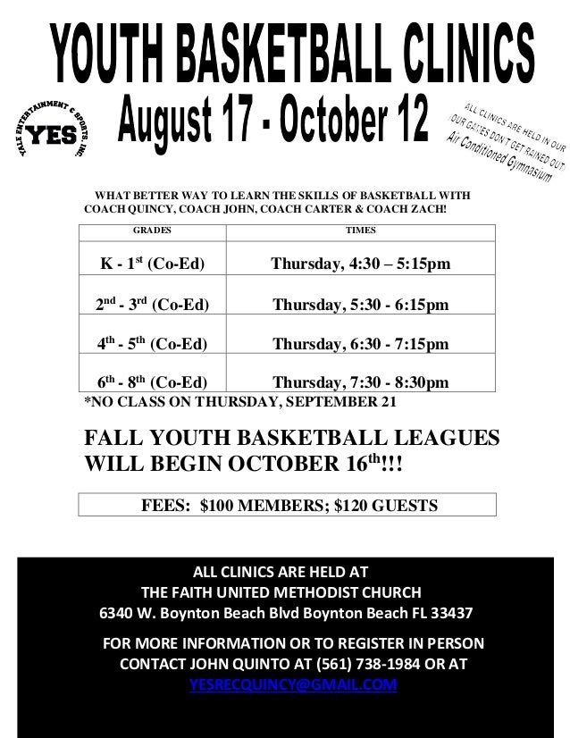 WHAT BETTER WAY TO LEARN THE SKILLS OF BASKETBALL WITH COACH QUINCY, COACH JOHN, COACH CARTER & COACH ZACH! *NO CLASS ON T...