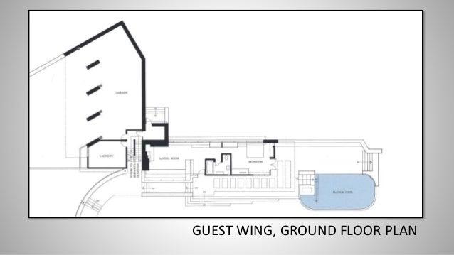 GUEST WING, GROUND FLOOR PLAN ...