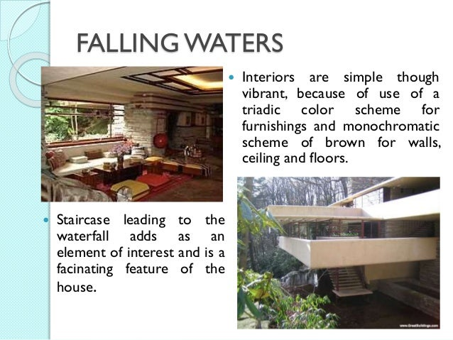 Frank L Wright Falling Waters And Key Projects