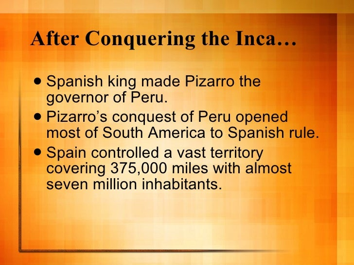 the fall of the aztec and inca empires and the spanish conquest 1572 – the spanish conquest of the inca empire is completed with the fall of the last inca stronghold túpac amaru, son of manco inca and the last ruler of the inca empire, is captured and executed in 1572.