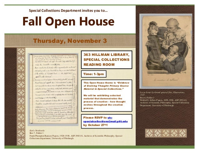 Special Collections Department invites you to… Fall Open House Lycee Louis Le Grand general files, Illustrations, 1827. Bo...