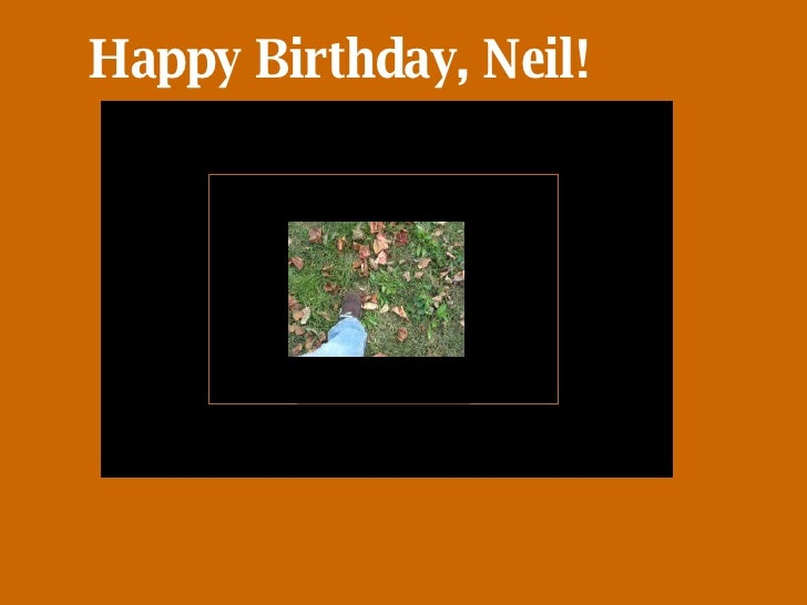Happy Birthday, Neil!