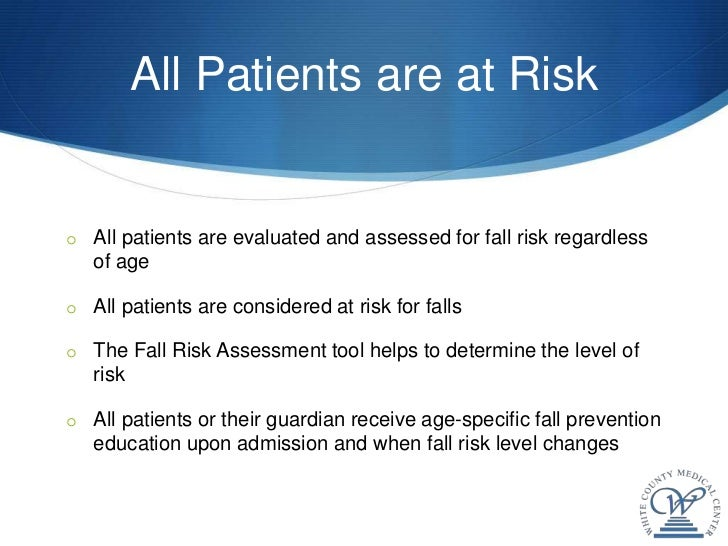 the falls risk assessment tool