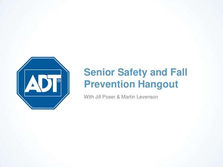 home safety for seniors pdf