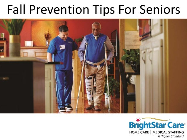 Fall Prevention Tips For Seniors