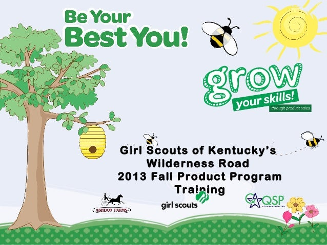 Girl Scouts of Kentucky's Wilderness Road 2013 Fall Product Program Training
