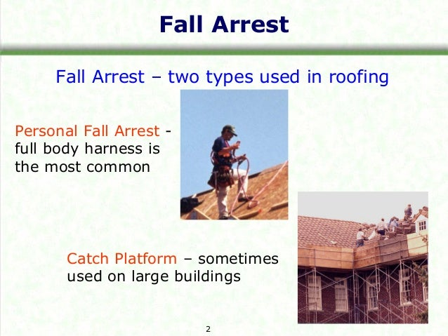 Roofing Fall Protection Training By