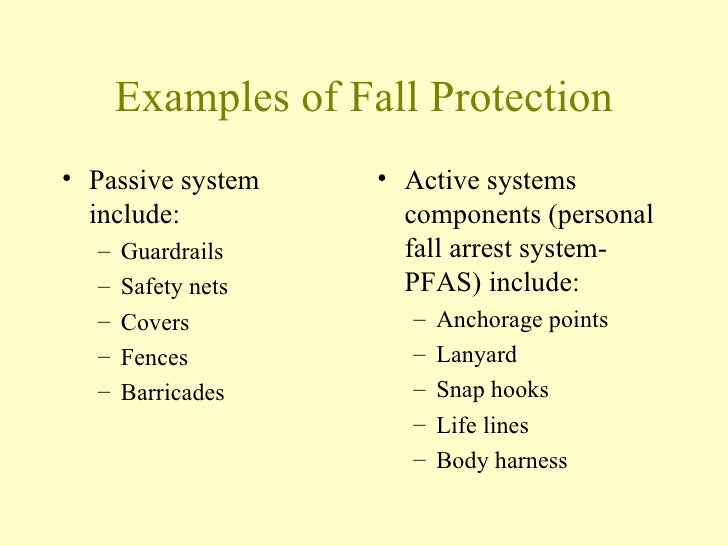 Fall Protection Gtech